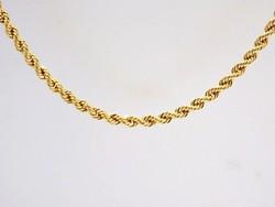 Csavart arany nyaklánc (ZAL-Au94869)