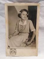 Gyökössy Műterem Hitler A. u. 8. 1940-1945. régi fotó képeslap