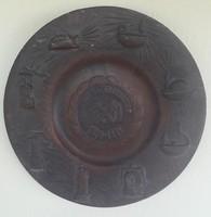Kerámia falikép - Dorogi Szénbányászat 1781 - 1981
