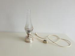 Retro régi petróleum lámpa alakú asztali lámpa