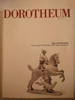 Dorotheum árverési magazin Glas und Porzellan 2018.12.20.