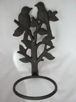Öntöttvas fali virágtartó