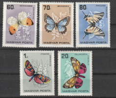 Lepkék posta tiszta bélyegen