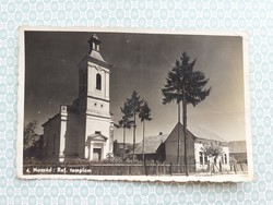 Régi képeslap 1943 Naszód  Református Templom levelezőlap