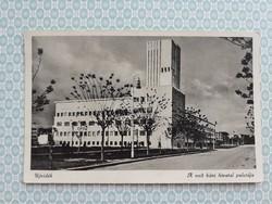 Régi képeslap 1941 Újvidék a volt Báni Hivatal palotája levelezőlap