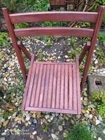 Retró összecsukható szék