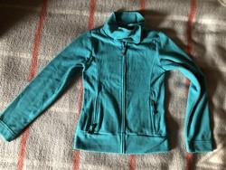Crashone kékeszöld pulóver