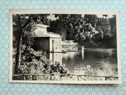 Régi képeslap 1943 Szováta Gyógyfürdő Medve-tó levelezőlap