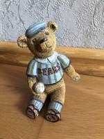 RITKA, Lang & Wise, Teddys & Toys - Baseball medve figura - 1.