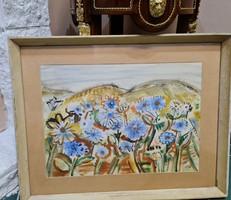 Lelkes András  Képcsarnokos festmény