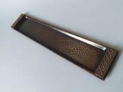 Iparművész bronz tálka/tálca 1970-es évek