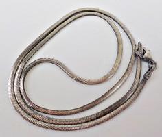 Lapos kígyólánc 925 ezüst ,olasz