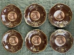 6 személyes Stilmalerei porcelán készlet