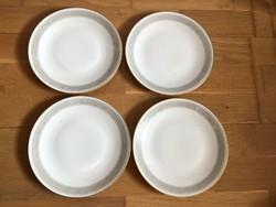 4 db Hutschenreuther Selb LHS - Bavaria porcelán tányér