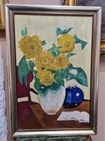 Virág csendélet - Olaj vászon