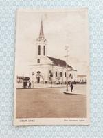 Régi képeslap Óbecse templom levelezőlap
