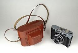1E475 Smena 8 Szmena szovjet fényképezőgép bőr tokban
