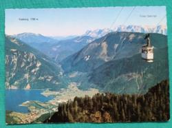 Ausztria,Feuerkogel,hegyek,drótkötélpálya,postatiszta képeslap