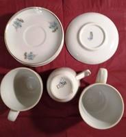 Hiánypótlásra porcelán  kávéskészlet tányérok és poharak  eladók