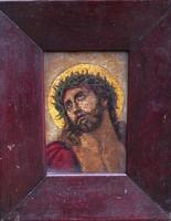 Ismeretlen festőművész – A Megváltó című festménye – 163.