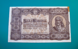 100 Korona -1923 július 1. -  Budapest  -