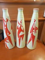 Zsolnay Török j ártdeco nagyméretű váza