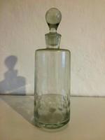 Üveg butella, kiöntő, palack