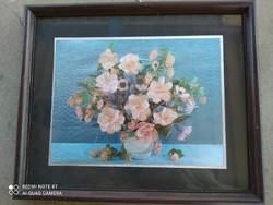Virág csendélet falikép