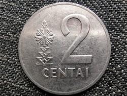 Litvánia 2 cent 1991 (id42898)