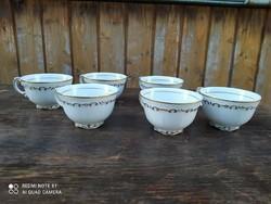 Gundel feliratú Zsolnay kávés csészék