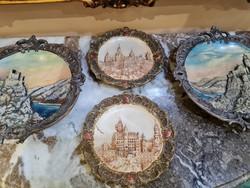 Terrakotta  Antik tányérok