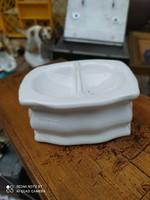 Antik porcelán fűszertartó