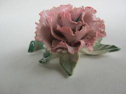 ENS porcelán virág szegfű
