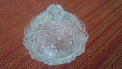 Üveg bonbonier ékszertartó