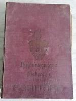 Hajdúvármegye Debrecen sz. kir. város adattára könyv