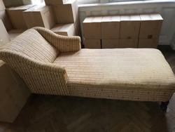 Biedermeier rekamié , kanapé  szófa eredeti huzatával.