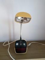 Art deco össze csukhatós óra lámpával