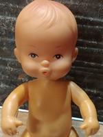 Pucér játékbaba fellelt állapotban