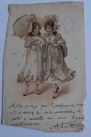 Régi képeslap - 1903
