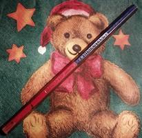 Kèt szìnű retrò vastag ceruza.
