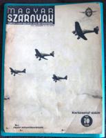 Magyar szárnyak 1941. december 15. (24. szám) – Repülésügyi folyóirat - Karácsonyi szám