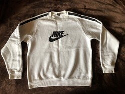 Nike fehér pulóver