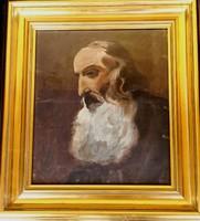 Ritkaság! Ludwig Glötzle festőművész – Tanulmányfej című festménye – 175.