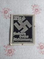 Adolf Hitler cigarettakártya