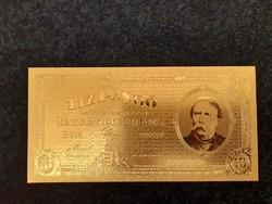 Új - aranyozott, plasztik Deák Ferenc 10 pengő 1926.