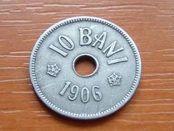 ROMÁNIA 10 BANI 1906 J J: Hamburg, German Empire Réz-nikkel #