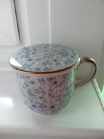Kerámia fedeles  csésze