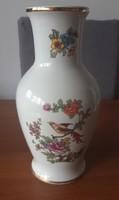 Hollóházi paradicsommadaras váza – 24cm - jelzett, gyűjtőknek