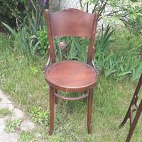 Antik virágos háttámlás thonet szék szép szobai állapotban