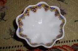 Victoria  porcelán antik árvácska mintával  asztali fűszertartó tálka